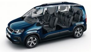 Groupe F : Peugeot Rifter ou similaire