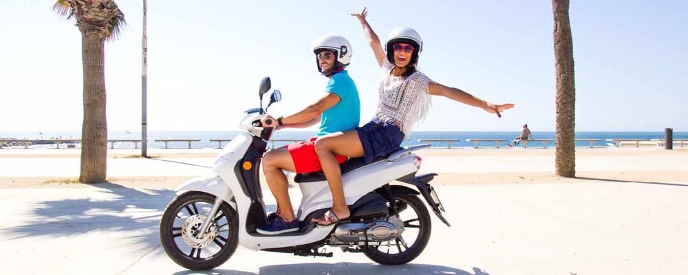 Noleggio di scooter a Paros - DK Scooters