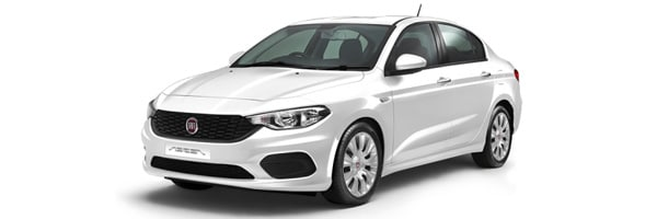 Fiat Tipo Sedan - Car rental in Paros